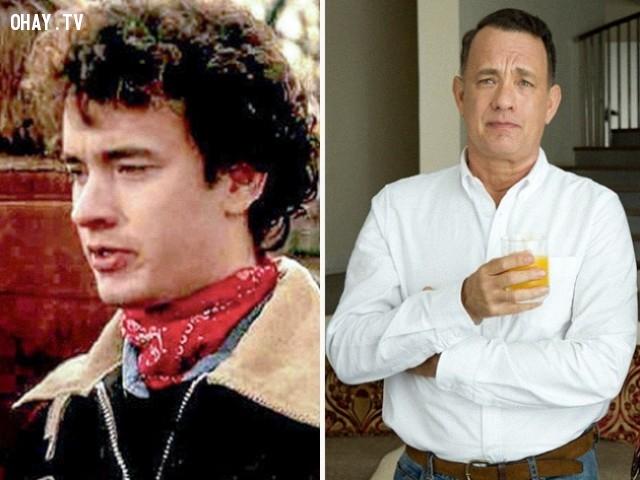 12. Tom Hanks trong He Knows You're Alone (1980) và A Hologram for the King (2016),diễn viên nổi tiếng,vai diễn debut