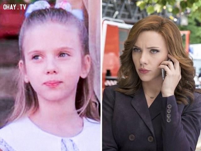 6. Scarlett Johansson trong North (1994) và Captain America: Civil War (2016),diễn viên nổi tiếng,vai diễn debut