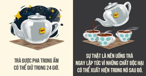 12 nhận thức sai lầm về các loại thức uống