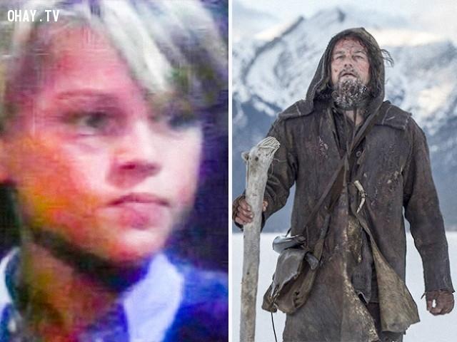 4. Leonardo DiCaprio trong Santa Barbara (1984-1993) và The Revenant (2015),diễn viên nổi tiếng,vai diễn debut