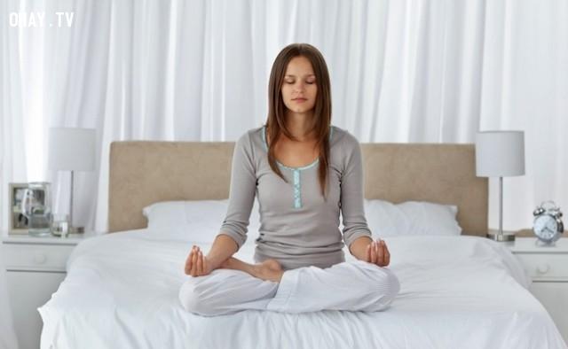 Thiền định,buổi sáng,thói quen tốt,thức dậy sớm,sức khỏe tốt