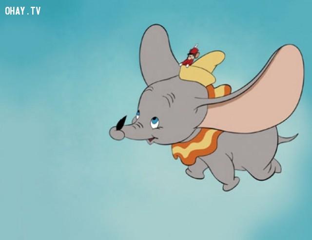 Chú voi DUMBO,triết lý cuộc sống,hoạt hình disney