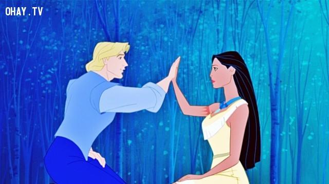 Pocahontas,triết lý cuộc sống,hoạt hình disney