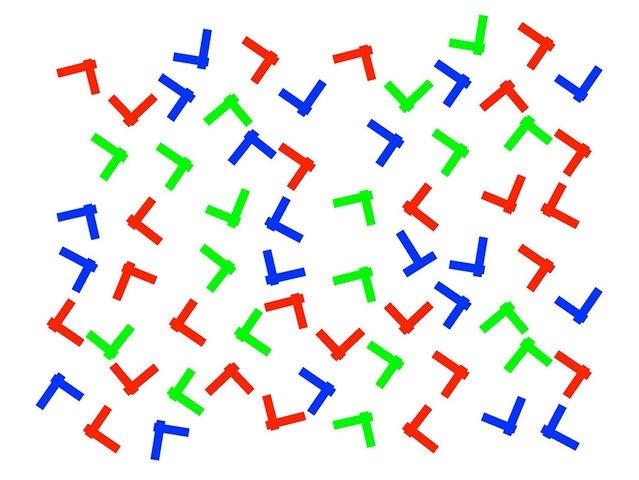 1. Hãy tìm chữ T trong bức ảnh này.,trắc nghiệm kiểm tra thị giác,trắc nghiệm kiểm tra thị lực,thị giác,thị lực,trắc nghiệm vui,thử tài tinh mắt