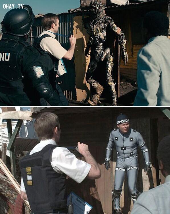 District 9 là một bộ phim khoa học viễn tưởng do Neill Blomkamp đạo diễn, Neill Blomkamp và Terri Tatchell là tác giả kịch bản, Peter Jackson là nhà sản xuất.,công nghệ cgi,phim bom tấn,xử lý hậu kỳ,hậu kỳ phim ảnh