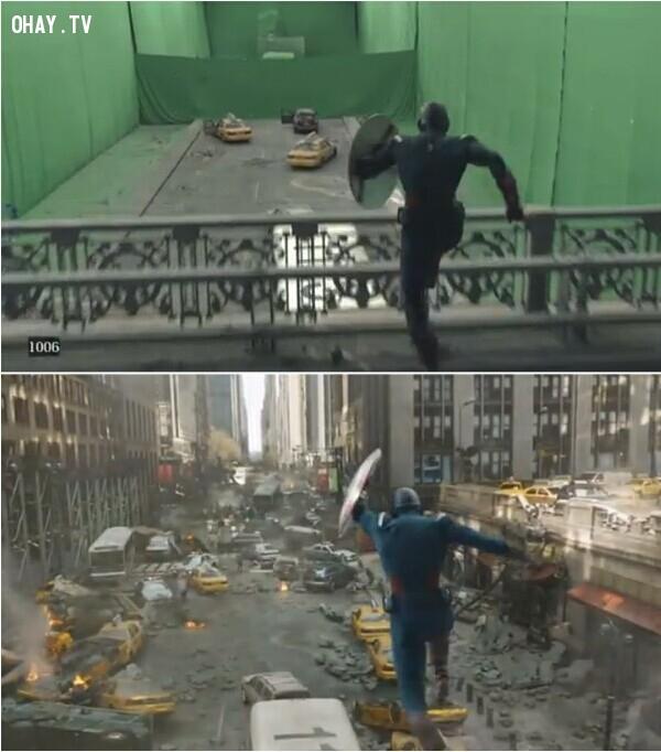 The Avengers là một bộ phim siêu anh hùng của Mỹ, sản xuất bởi Marvel Studios và phân phối bởi Walt Disney Pictures. ,công nghệ cgi,phim bom tấn,xử lý hậu kỳ,hậu kỳ phim ảnh