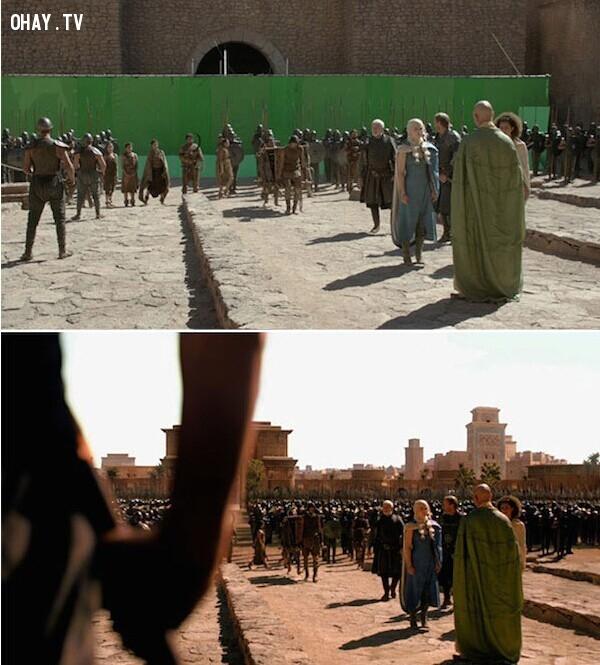 Game of Thrones là một loạt phim truyền hình giả tưởng của Mỹ được phát hành trên kênh HBO, bởi David Benioff và D. B. Weiss được biết đến như giám đốc sản xuất và nhà biên kịch chính.,công nghệ cgi,phim bom tấn,xử lý hậu kỳ,hậu kỳ phim ảnh