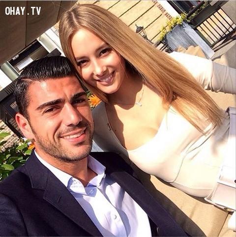 3. Viky Varga - bạn gái tiền đạo Graziano Pelle (Italia),EURO 2016,WAGS,bạn gái cầu thủ,bóng đá,người đẹp