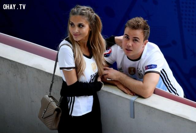 ,EURO 2016,WAGS,bạn gái cầu thủ,bóng đá,người đẹp