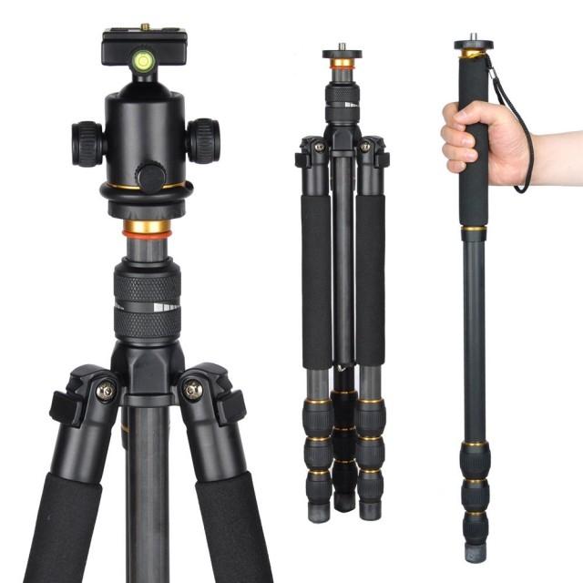 Monopod vs Trippod,monopod,đồ chơi máy ảnh,chân máy ảnh