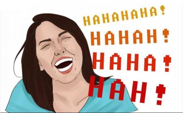 6. Nụ cười ha hả,nụ cười,kiểu cười,tâm tính,tính cách