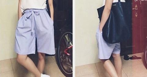 4 điều cần ghi nhớ nếu muốn thử quần ngố Culottes