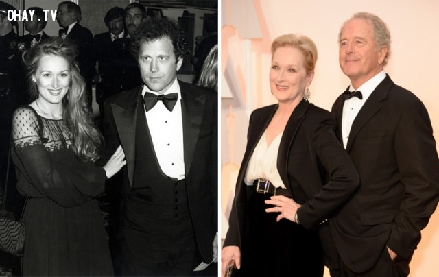 #2 Meryl Streep và Don Gummer - 37 năm bên nhau,cặp đôi nổi tiếng,cặp đôi đồng tính,mất niềm tin vào tình yêu