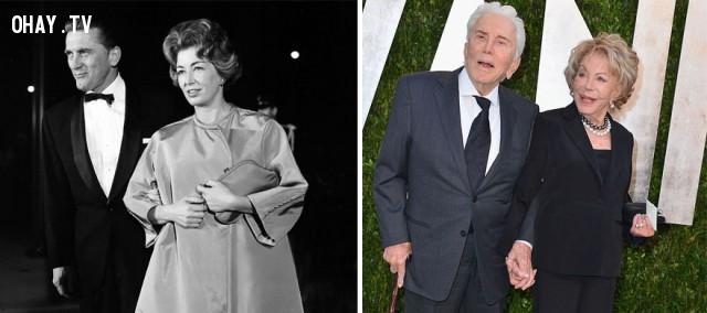 #3 Kirk Douglas và Anne Buydens - 62 năm bên nhau,cặp đôi nổi tiếng,cặp đôi đồng tính,mất niềm tin vào tình yêu