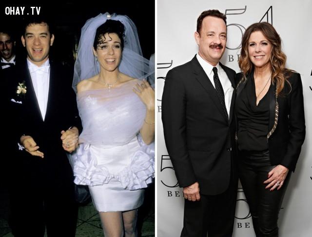 #4 Tom Hanks và Rita Wilson - 28 năm bên nhau,cặp đôi nổi tiếng,cặp đôi đồng tính,mất niềm tin vào tình yêu