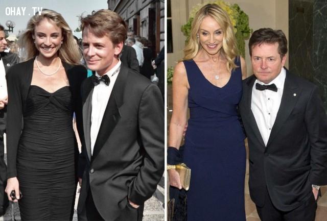 #8 Michael J. Fox và Tracy Pollan - 28 năm bên nhau,cặp đôi nổi tiếng,cặp đôi đồng tính,mất niềm tin vào tình yêu