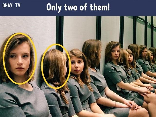 3. Chỉ có 2 cô gái mà thôi.,khác lạ,câu đố