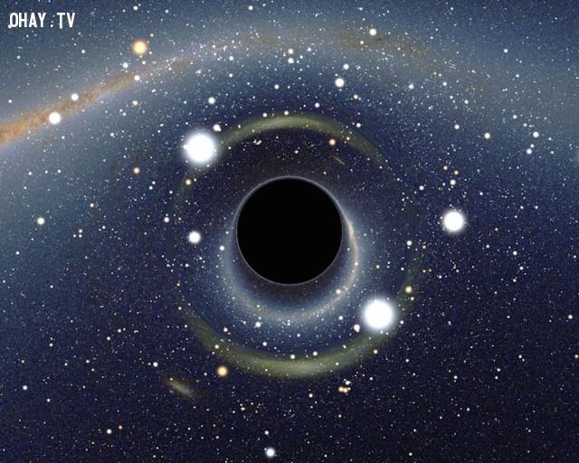 Hố đen, đây là bí ẩn đầu tiên khoa học không thể giải thích được. ,bí ẩn vũ trụ,khám phá,vũ trụ,lỗ đen vũ trụ