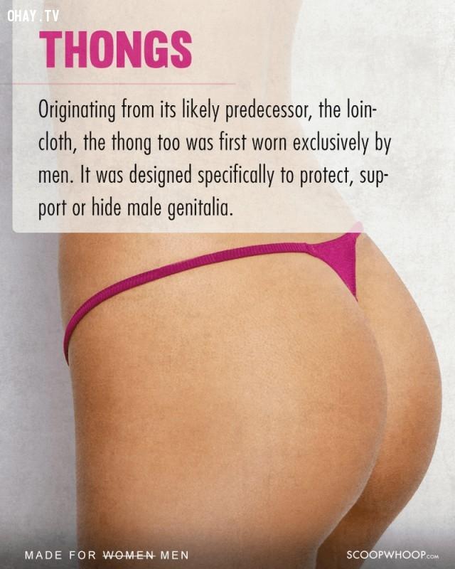 5. Quần dây,phụ nữ,nam giới,nguồn gốc sự vật,vật dụng của phụ nữ