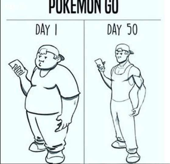 Bộ Y tế cho rằng Pokémon GO là một biện pháp hữu hiệu để tăng cường sức khỏe,ảnh hài hước,luyện thú,khoảnh khắc Pokémon GO,chơi game,chơi pokemon go