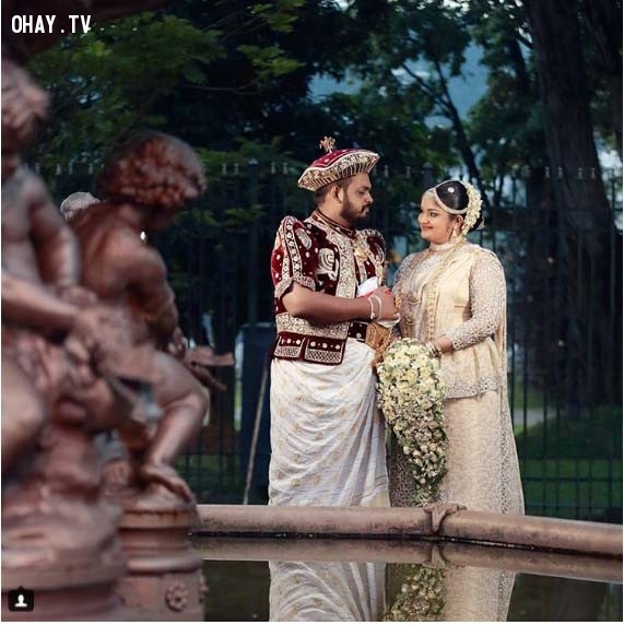 5. Sri Lanka,trang phục truyền thống