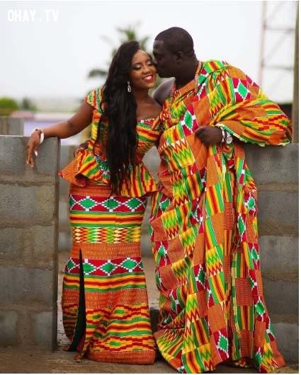 2. Ghana,trang phục truyền thống