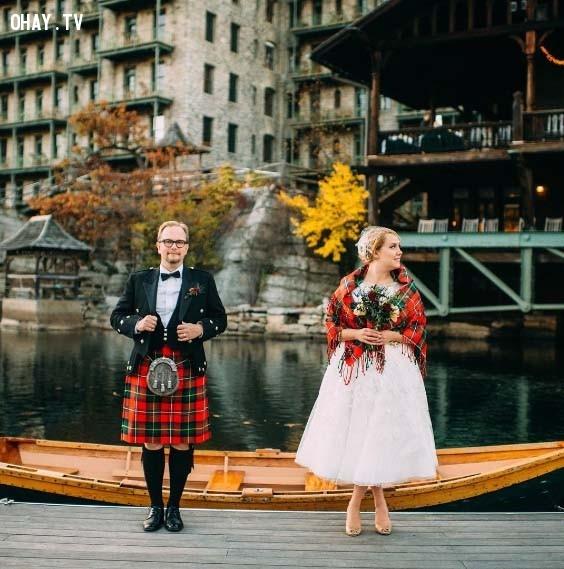 7. Scotland,trang phục truyền thống