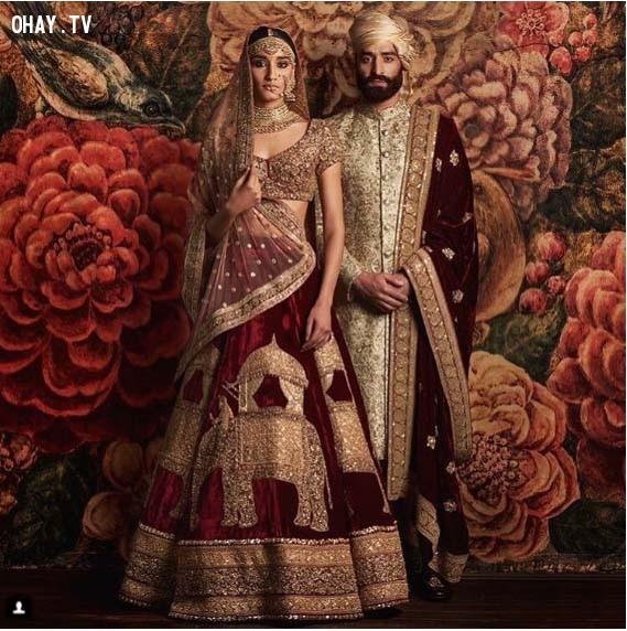 6. Ấn Độ,trang phục truyền thống