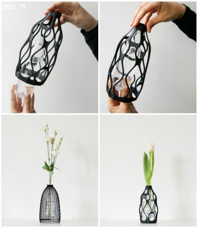 Lọ hoa 3D,