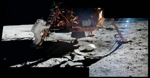 16 ảnh cực hiếm về chuyến thám hiểm Mặt trăng của tàu Apollo 11