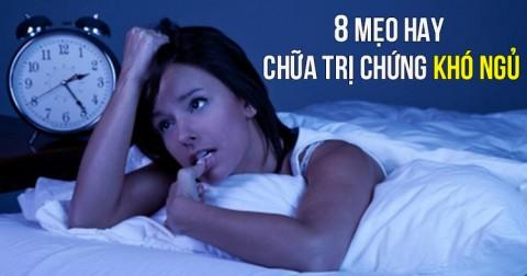 8 mẹo cực kỳ hay chữa trị chứng khó ngủ và giúp bạn có được giấc ngủ ngon
