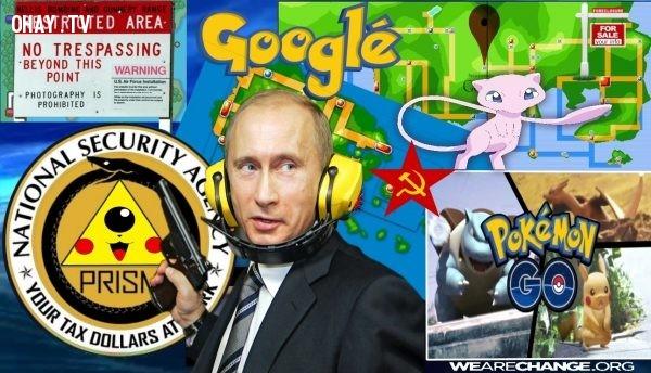 ,tổng thống Nga,Vladimir Putin,nước Nga,Pokemon Go,CIA,thuyết âm mưu