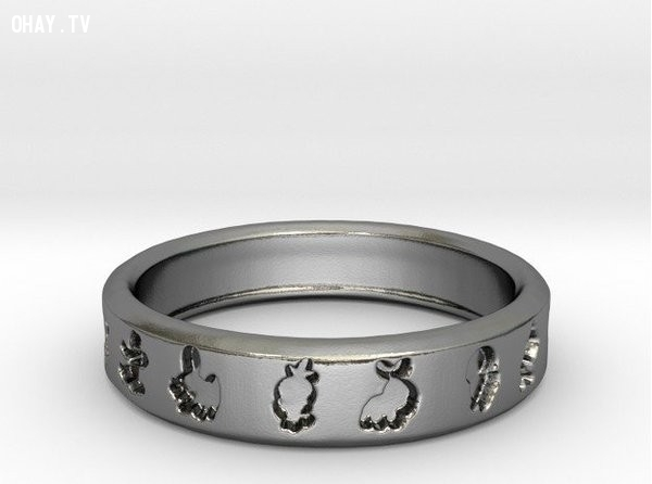 Trở thành một Ash Ketchum theo cách riêng của mình với chiếc nhẫn bạc cá tính này ,pokemon go,ý tưởng đám cưới,tổ chức đám cưới