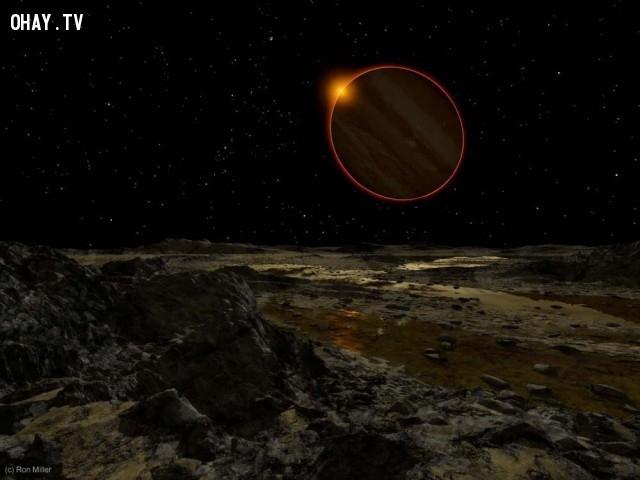 Ánh sáng Mặt trời trên sao Mộc.,mặt trời chiếu sáng,ron miller,ánh mặt trời trên hành tinh khác