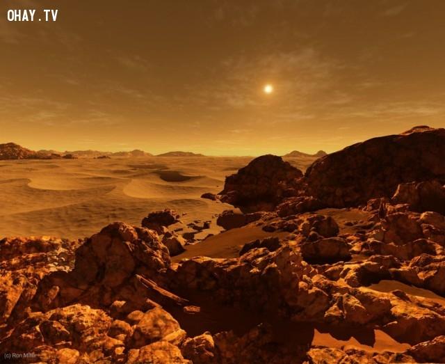 Ánh sáng Mặt trời trên Hỏa Tinh.,mặt trời chiếu sáng,ron miller,ánh mặt trời trên hành tinh khác