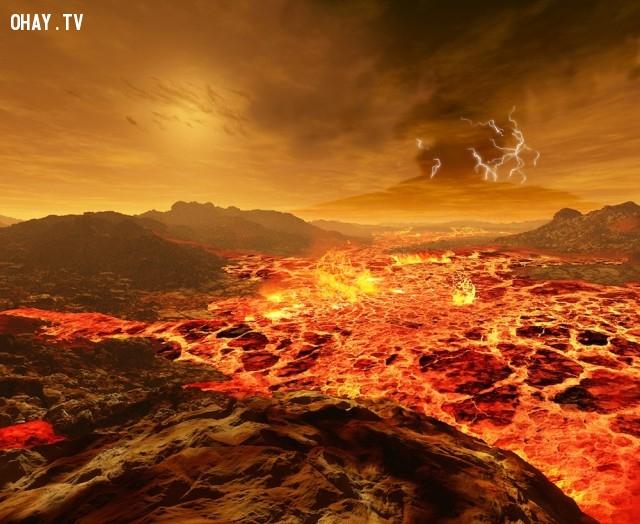 Ánh sáng mặt trời trên sao Kim.,mặt trời chiếu sáng,ron miller,ánh mặt trời trên hành tinh khác
