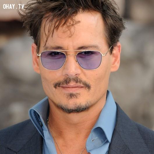 Johnny Depp,nam diễn viên đẹp trai,nam diễn viên nổi tiếng