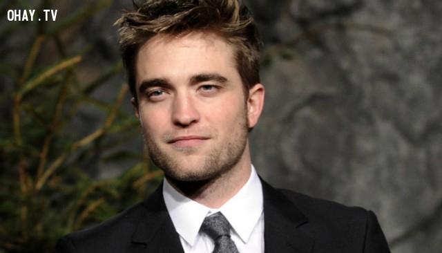 Robert Pattinson,nam diễn viên đẹp trai,nam diễn viên nổi tiếng