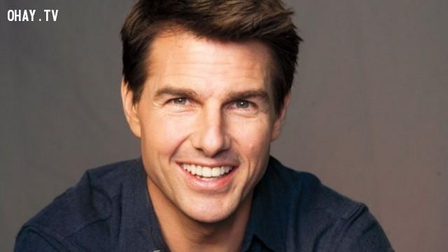 Tom Cruise,nam diễn viên đẹp trai,nam diễn viên nổi tiếng