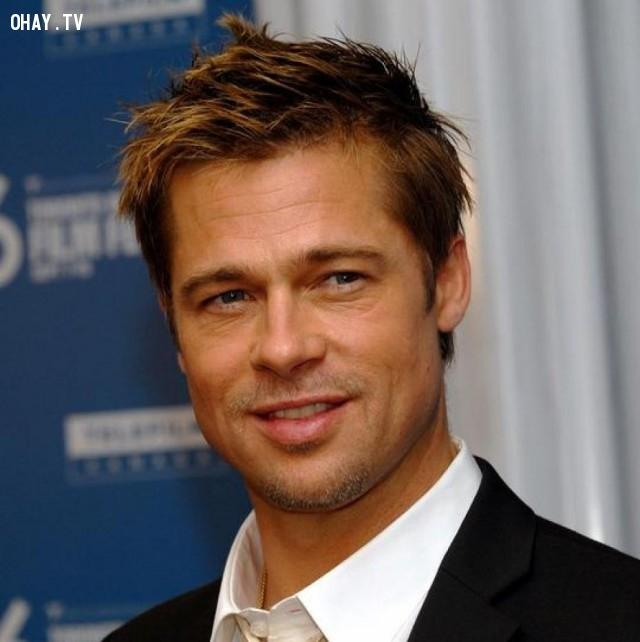 Brad Pitt,nam diễn viên đẹp trai,nam diễn viên nổi tiếng
