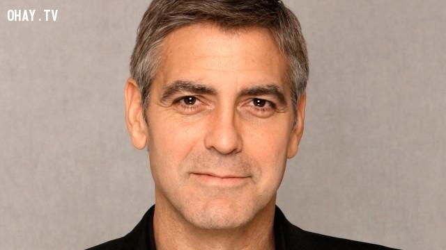 George Clooney,nam diễn viên đẹp trai,nam diễn viên nổi tiếng