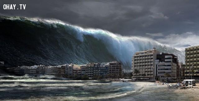 Sóng thần là gì?,sóng thần,tsunami,biển,động đất,núi lửa