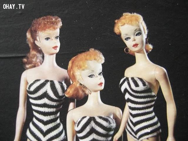 Búp bê Barbie ngày ấy,những điều thú vị trong cuộc sống,vật dụng yêu thích,ngày ấy bây giờ