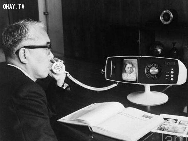 Chiếc đoạn thoại có thể thực hiện cuộc gọi video ngày ấy,những điều thú vị trong cuộc sống,vật dụng yêu thích,ngày ấy bây giờ