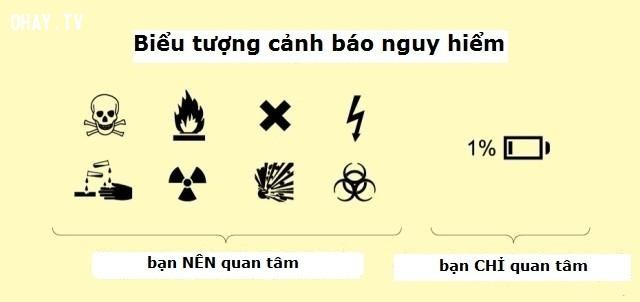 7. Biểu tượng cảnh báo nguy hiểm,hiện thực cuộc sống,cuộc đời,suy ngẫm