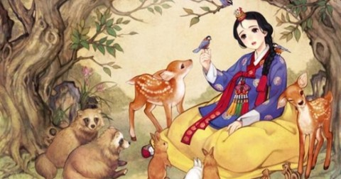 Khi những nàng công chúa Disney là người Hàn Quốc. Bạn nghĩ dung mạo của họ sẽ ra sao?