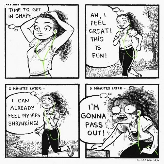 Tập thể dục,con gái,sự thật,cuộc sống không đơn giản