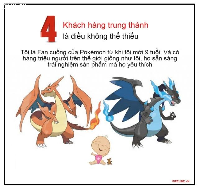 4. Khách hàng trung thành là điều không thể thiếu,marketing,quảng cáo,pokemon go