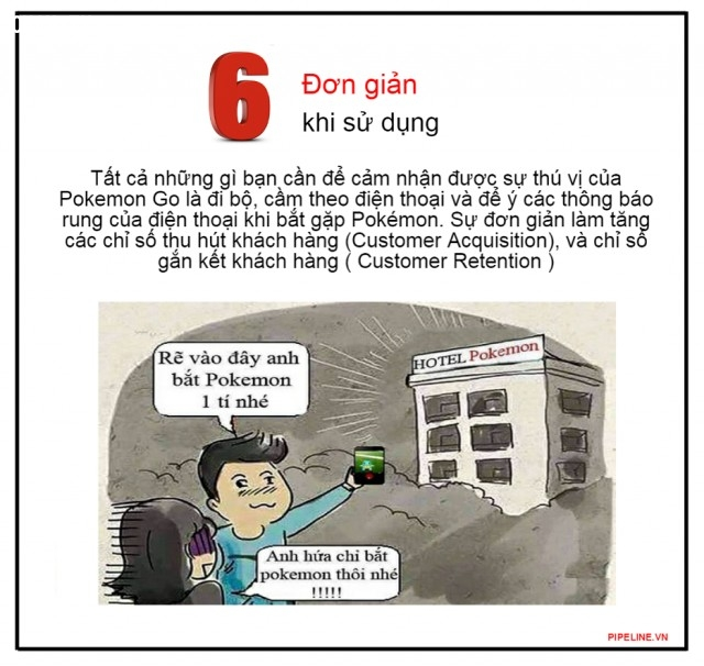6. Đơn giản khi sử dụng,marketing,quảng cáo,pokemon go