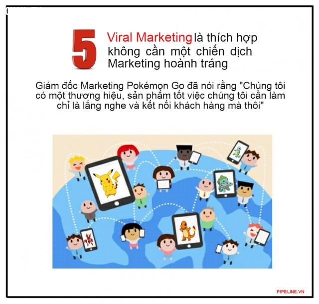5. Viral Marketing là thích hợp, không cần một chiến dịch Marketing hoành tráng,marketing,quảng cáo,pokemon go